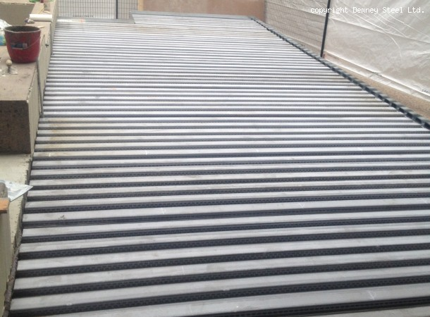 <span>Steel deck for new rased patio.:</span>