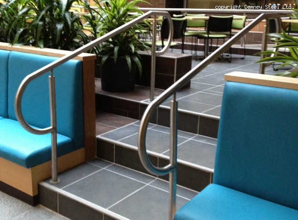<span>Stainless Steel Stair Rails:</span>