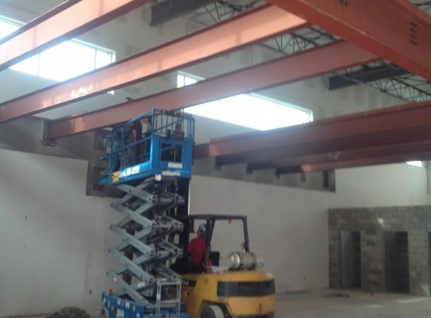 <span>Structural Steel:</span> Floor Beam Installation