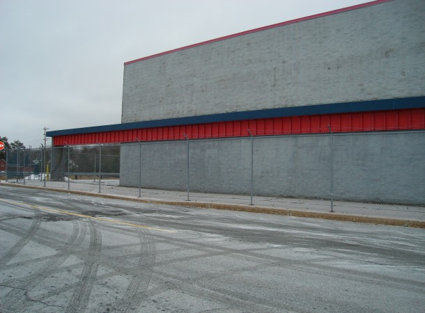 <span>Exisitng Building:</span> View of Building Front prior to construction.