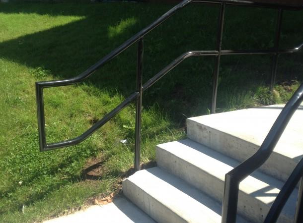 <span>Concrete Stair Rails:</span>