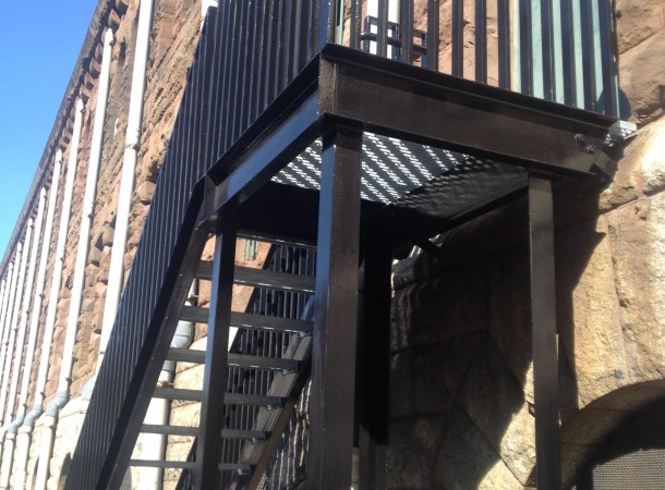 <span>Fire Exit Stairs:</span>